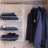 收納層架臥室衣服籃衣物置物架柜內隔板分層宿舍儲物衣櫥整理