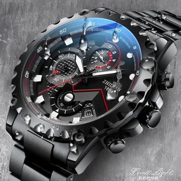 新款手錶男士機械潮流學生防水電子運動霸氣瑞士男錶 果果輕時尚