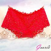 情趣用品-商品買送潤滑液*2♥Gaoria想入非非一片式蕾絲款冰絲無痕內褲紅情趣用品