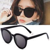 明星款墨鏡女網紅同款太陽鏡偏光韓國個性復古原宿風眼鏡街拍