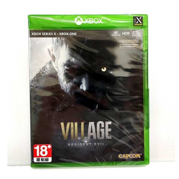 Xbox series X 惡靈古堡 8 村莊 中文版 Resident Evil Village【現貨】