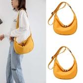 帆布包 大容量帆布包包 2020新款時尚斜挎餃子包ins潮休閒簡約單肩包女包