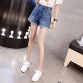 牛仔短褲高腰2020春夏新款大碼裝顯瘦熱褲學生韓版