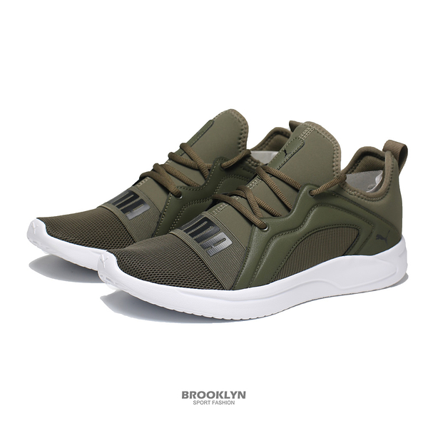 PUMA 慢跑鞋 RESOLVE STREET 軍綠 慢跑 運動鞋 男 (布魯克林) 19506206