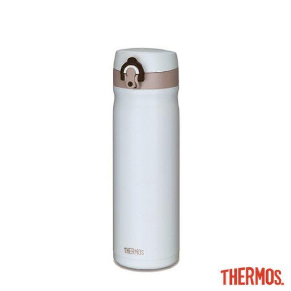 【THERMOS 膳魔師】不銹鋼真空保溫瓶500ml (香草歐蕾)