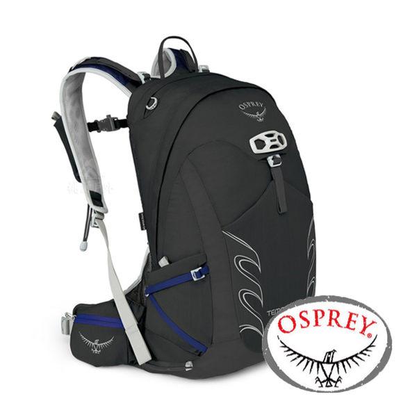 【美國 OSPREY】TEMPEST 20 透氣健行背包18L『黑』 XS/S 10000886 後背包.健行.防雨罩.多口袋
