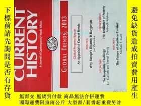二手書博民逛書店Current罕見History (Journal) 01 2013 當代歷史學術期刊考研資料Y14610