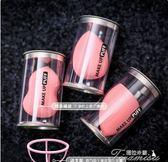 美妝蛋-3個超軟美妝蛋 葫蘆海綿粉撲干濕兩用不吃粉氣墊工具 提拉米蘇