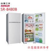 好禮送★【SANLUX三洋】480L雙門冰箱SR-B480B