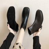 切爾西靴子女2020秋款百搭瘦瘦鞋新款網紅馬丁靴英倫風ins短靴潮