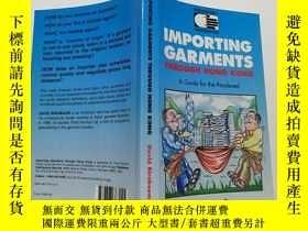 二手書博民逛書店32開英文原版書籍---importing罕見garments theough hong kongY16718