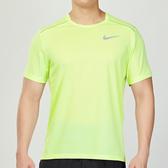 Nike Miller 男子 黃綠色 排汗 透氣 訓練 運動 短袖 上衣 AJ7566-701