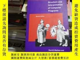 二手書博民逛書店Structure罕見and Interpretation of Computer Programs - 2nd