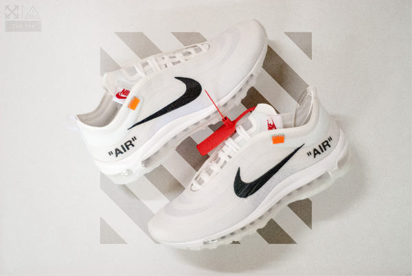 ISNEAKERS Nike x OFF-WHITE 「THE TEN」Air Max 97 白 聯名 Virgil Abloh 設計 限量 限定 AJ4585-100