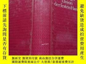 二手書博民逛書店Union罕見der festen Hand(德文原版Erik