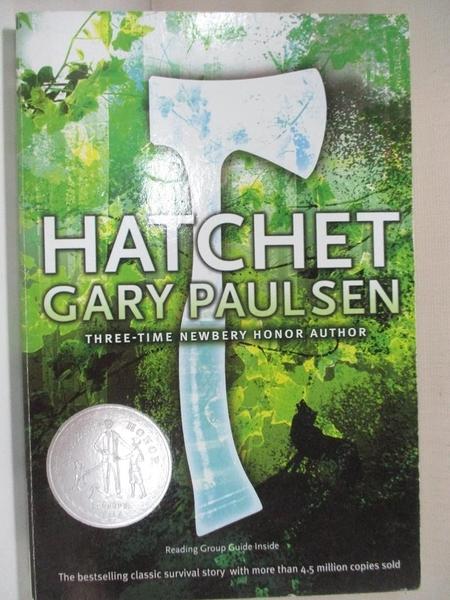 【書寶二手書T1/原文小說_HU8】Hatchet_Paulsen, Gary