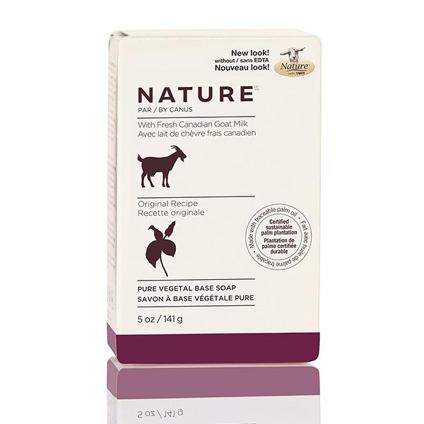 Nature頂級山羊奶滋養皂(經典原味)-141g
