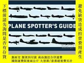二手書博民逛書店Plane罕見Spotter's Guide (damaged)-飛機觀察員導軌(損壞)Y414958