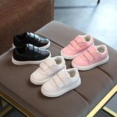 韓版軟底寶寶板鞋2018春款女童鞋子1-6歲兒童運動鞋 LQ2338『科炫3C』
