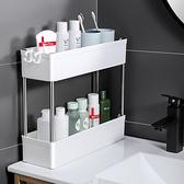 浴室收納架 衛生間洗漱台置物架免打孔洗手間廁所浴室牆角化妝品收納櫃子神器【幸福小屋】
