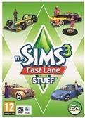 [哈GAME族]全新 可刷卡 滿399免運費 PC GAME EA 模擬市民3 慾望街車組合 SIM3 Fast Lane stuff 物件包