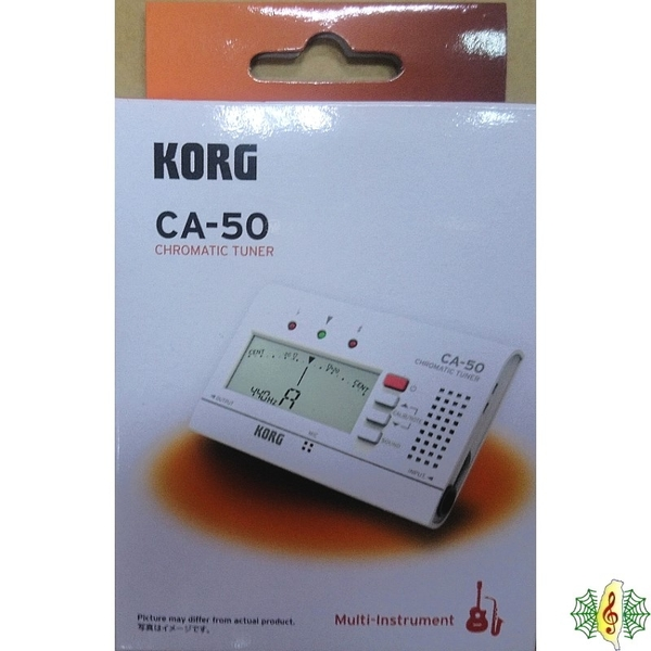 調音器 [網音樂城] KORG CA-50 古箏 古琴 琵琶 校音器 ( CA-40 升級款)