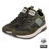 Palladium 新竹皇家 AX EON 綠色 麂皮 套入式 休閒鞋 男款 NO.A9972