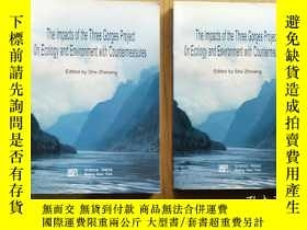 二手書博民逛書店the罕見lmpacts of the three gorges