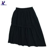 【三折特賣】American Bluedeer - 鬆緊羅紋半裙 秋冬新款