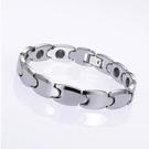外銷日本KOTO頂級時尚鎢鋼能量健康手鍊 經典中性款1入附原廠禮盒-灰鍺/磁石健康手環
