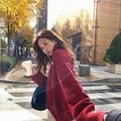 女生韓版毛衣長袖 女士毛衣時尚加厚上衣 寬鬆日系百搭潮流秋冬保暖打底衫 學院風女生針織衫