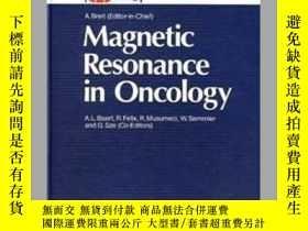 二手書博民逛書店Magnetic罕見Resonance in Oncology