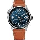 CITIZEN 星辰 飛行風 機械錶 NJ0140-25L 藍面 /42mm