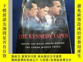 二手書博民逛書店英文原版罕見The Kennedy Tapes: Inside