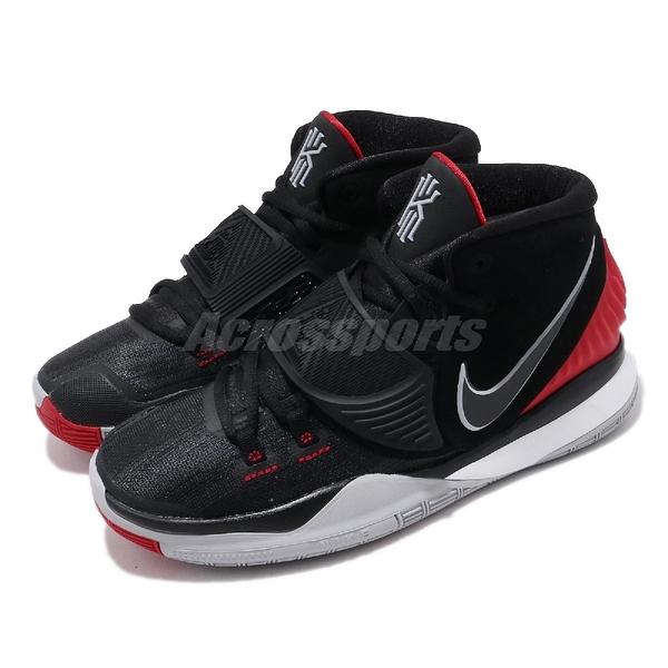 【六折特賣】Nike 籃球鞋 Kyrie 6 GS 黑 紅 女鞋 大童鞋 KI6 irving 運動鞋 【ACS】 BQ5599-002
