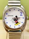 【震撼精品百貨】米奇/米妮_Micky Mouse~日本迪士尼米奇鐵錶/手錶-圓銀#22401