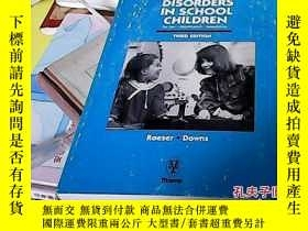 二手書博民逛書店AUDITORY罕見DISORDERS IN CHILDREN9