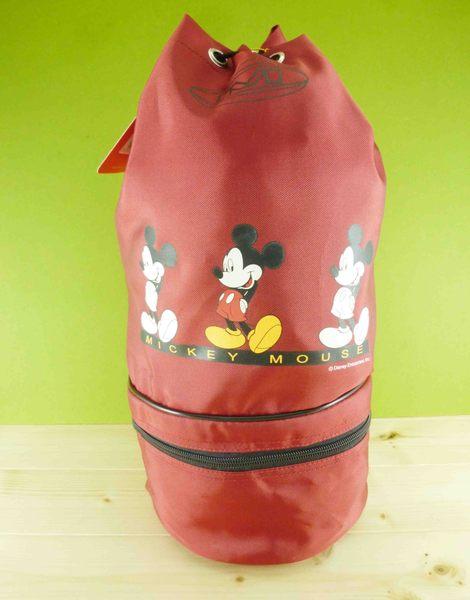 【震撼精品百貨】Micky Mouse_米奇/米妮 ~水桶袋-紅