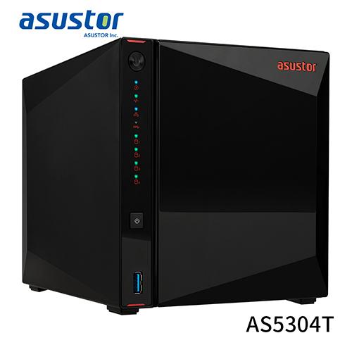 ASUSTOR 華芸 AS5304T 4Bay NAS 網路 儲存 伺服器