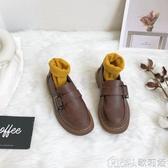 秋季新款黑色小皮鞋日系女jk基礎款英倫風復古制服鞋韓版百搭 歌莉婭