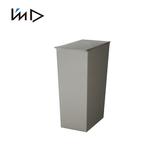【 岩谷Iwatani 】長型可分類掀蓋式垃圾桶附輪36L 灰