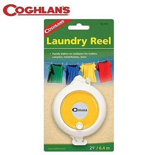 丹大戶外【Coghlans】加拿大 LAUNDRY REEL 曬衣繩 8512