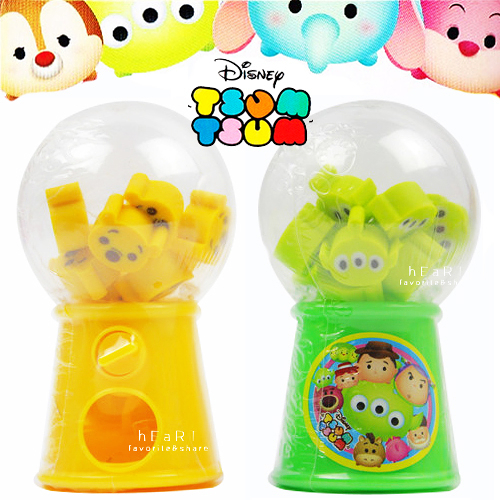 迪士尼Tsum Tsum 迷你扭蛋機 扭蛋 文具