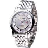 TITONI Spacestar 世紀之星 紳士機械錶_83738S-362