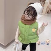 兒童馬甲 女童2020秋冬新款童裝中小童寶寶兒童潮款棉馬甲兒童洋氣保暖背心 3色80-140