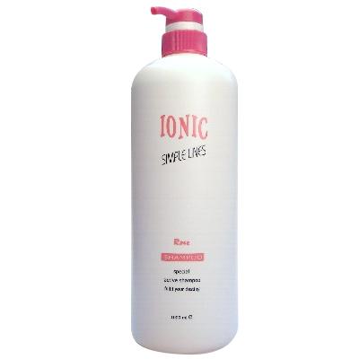 IONIC 艾爾妮可 玫瑰精油洗髮精 1000ml (燙染後)