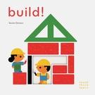 Touch Think Learn:Build! 蓋房子硬頁認知書