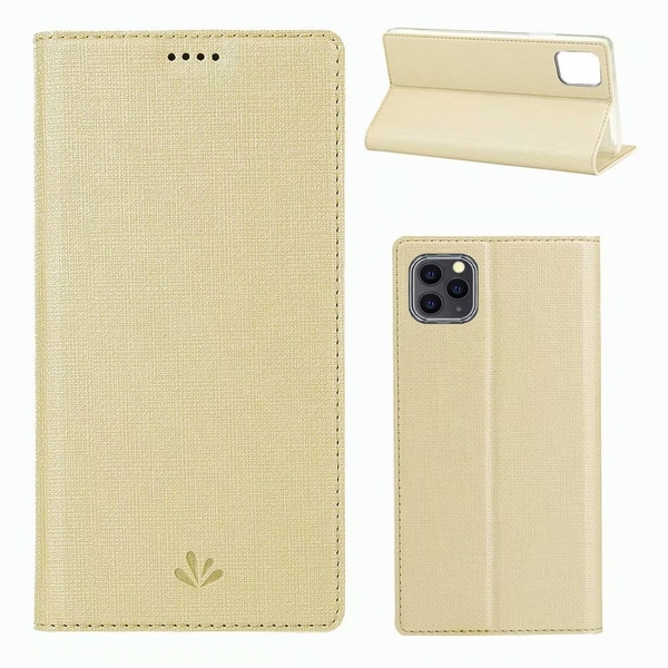 "ViLi DMX iPhone11 6.1""/11 Pro 5.8""/11 Pro Max 6.5"" 簡約時尚側翻手機保護皮套 隱藏磁扣支架 內TPU"