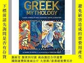 二手書博民逛書店Treasury罕見of Greek Mythology: Cl