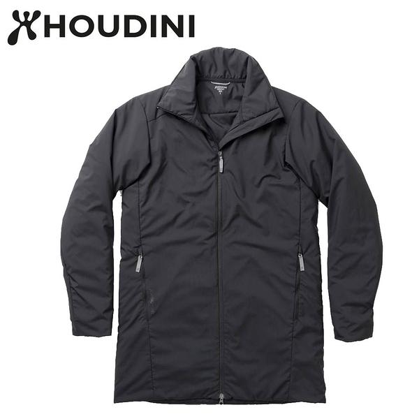 瑞典【Houdini】M`s Add-in Jacket 男款化纖保暖長板夾克 黑